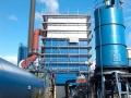 Rauchgasreinigungsanlage bei Verbrennung von Klärschlamm